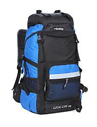 45 L Randonnée pack / Voyage Duffel / Organisateur Voyage / sac à dos / Sac à Dos de Randonnée Camping & Randonnée / Escalade / Voyage