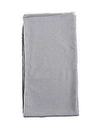 Cooling Towel Eco Friendly / Non Toxic Nylon Gray / Fuchsia