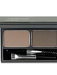 Продукты для бровей порошок Сухие Стойкий Натуральный Разноцветный Глаза 2 Mamonde