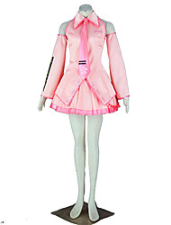 Vocaloid Hatsune Miku Anime Cosplay Costumes Shirt / Skirt / Tie / Sleeves / Headpiece / Stockings Female