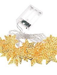 étoiles de lumière de vacances bande LED 20 lampe balles / set string conduit pour les lumières de fées de fête de mariage de décoration