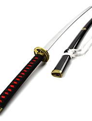 Espada Inspirado por Cosplay Cosplay Animé Accesorios de Cosplay Negro Madera Hombre