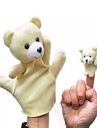 Animal Teddy Bear Parent-Child Hand Even Occasional Bears Big Hand Couple Even Bear Little Finger