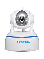 Webcam homedia® 1080p wifi ip 2.0mp plein hd sans fil p2p onvif ptz sd nuit vue mobile (Android et ios)