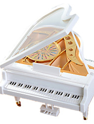 Music Box ABS White Music Toy