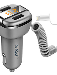 SAST Car charger Car USB LED AY-T52S