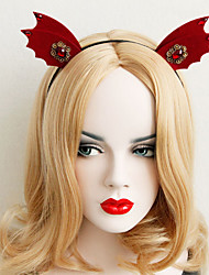 Blonde Wig with Hairband Metal Christmas Girl Gift Gothic Style Party Holiday Cosplay Middele Parting Wave Fashion Hair Heat Resistant