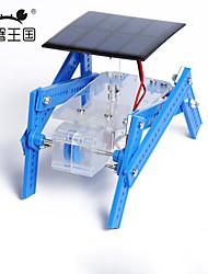 Crab Kingdom of Solar Panels Quadruped Robot DIY Hand Assembled Materials Package Educational Educational Equipment
