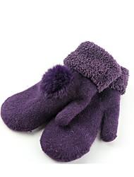 обратите внимание фиолетовый мс теплые перчатки