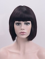 Europe and America popular machine made short hair wig