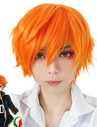 Costumes Cosplay Haikyuu Entaille Orange Court Anime Perruques de Cosplay 30CM CM Fibre résistante à la chaleur / Fibre synthétique