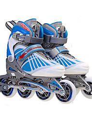 Inline-Skates Kinder Rutschfest Polsterung im Freien PU(Polyurethan) PVC Leder PVC Gummi Eislaufen