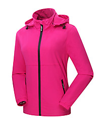 Women's Jackets Outdoors Waterproof Windbreaker Soft Shell Breathable Jacket Spring and Autumn 1 Pc
