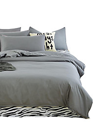Mingjie Wonderful Grey Bedding Sets 4PCS for Twin Full Queen King Size from China Contian 1 Duvet Cover 1 Flatsheet 2 Pillowcases