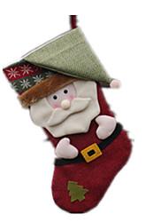 Artigos de Festa / Decoração Decoração Para Festas Ternos de Papai Noel Felpudo Para Meninos / Para Meninas 5 a 7 Anos