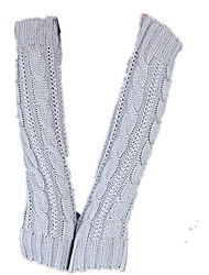 Ms. Long Knitted Gloves (Light Gray A Pack Of Two Pairs Of A Pack Of A Sale)