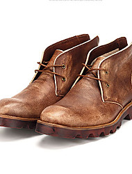Masculino-Botas-OthersAzul / Marrom-Napa Leather-Casual