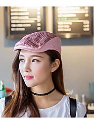 Women Cotton Beret Hat,Casual Fall / Winter