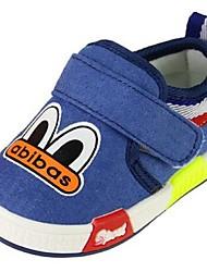 Jungen-Sneaker-Lässig-LeinwandKomfort-Schwarz / Blau / Orange