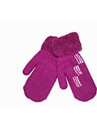 (Note - violet) à double bouleversé chaud fait même référence à gants tricotés femmes