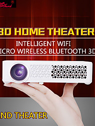 HTP® 800WM DLP Projetor para Home Theater WXGA (1280x800) 400 Lumens LED 4:3/16:9