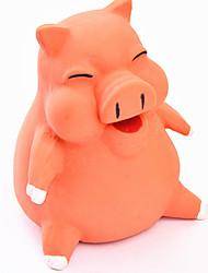 Собаки Игрушки для животных Игрушки с писком Скрип Розовый / Желтый / Оранжевый Силикон