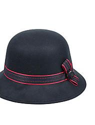 Women Faux Fur Bucket Hat,Casual Fall / Winter