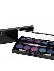 Lidschattenpalette Trocken Lidschatten-Palette Puder NormalAlltag Make-up / Halloween Make-up / Party Make-up / Feen Makeup / Cateye