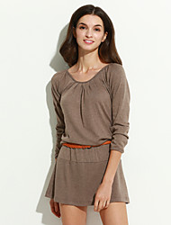 Women's Long Sleeve Mini Dress