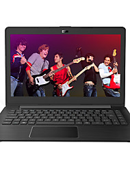 THTF laptop de 14 polegadas Intel Celeron CPU quad-core 4 GB de RAM HDD 500GB janelas portáteis 10