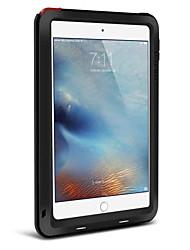 Pour Eau / Dirt / antichoc Coque Coque Intégrale Coque Couleur Pleine Dur Métal Apple iPad Mini 4