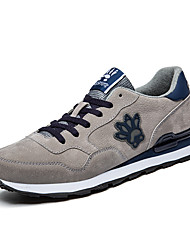 Men's Athletic Shoes Spring Summer Fall Winter Comfort Suede Athletic Blue Gray