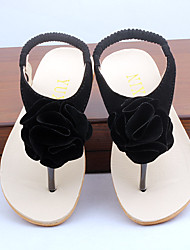Girl's Sandals Summer Others Leatherette Casual Black Beige Peach