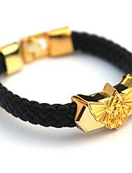 Plus d'accessoires Inspiré par The Legend of Zelda Cosplay Anime Accessoires de Cosplay Bracelets Doré Alliage / Cuir PU