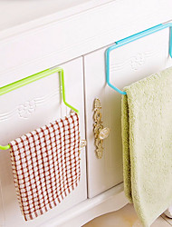 организаторы вешалка для полотенец висит съемная ткань мытья кухонных принадлежностей шкаф для одежды пластиковые губка держатель стойки