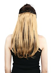 Neitsi 14'' 3 Pcs/set Straight Clip in/on Hair Weft Synthetic Hair Extensions #536