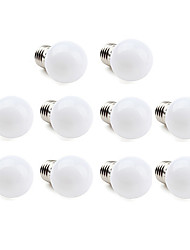 1W E26/E27 LED Globe Bulbs 12 SMD 3528 30 lm Warm White / Cool White AC 220-240 V 10 pcs