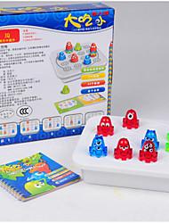 Jogo de Tabuleiro / Brinquedo Educativo Hobbies de Lazer Peixes Plástico Verde / Azul Para Meninos / Para Meninas