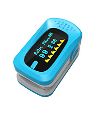 Ying Shi Finger Pulse Oximeters Manual LCD Display with  Voice / Memory Storage Battery White / Red / Green / Blue / Orange