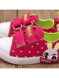 Girl's Sneakers Comfort Canvas Casual Pink / Peach