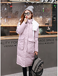 Sign Dongguk door long down jacket Slim large size women thick winter coat jacket
