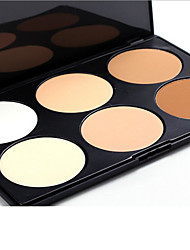 6 Concealer/Contour Dry Pressed powder Concealer Uneven Skin Tone Face Multi-color
