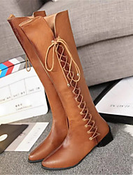 Women's Boots Others PU Casual Brown