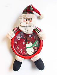 3fashion рождественские украшения подарки роль ofing елочные украшения Рождественский подарок Рождественский настенные часы