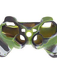 silicone Housse pour manette PS3 (couleur camouflage)