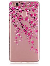 prune fleur motif tpu matériau cas de téléphone pour huawei p9 / p9 Lite