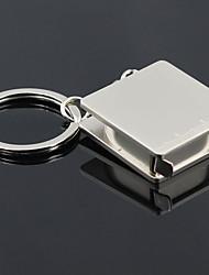 Cromado Favors Chaveiros-1 Piece / Set Chaveiros Personalizado Prateado