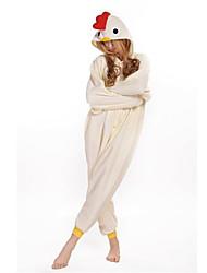 Kigurumi Pijamas Galo/Galinha Collant/Pijama Macacão Festival/Celebração Pijamas Animais Dia das Bruxas Estampado Lã Polar Kigurumi Para
