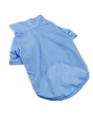Dog Sweatshirt Blue Dog Clothes Summer / Spring/Fall Solid Casual/Daily