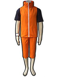 Naruto Anime Cosplay Costumes Coat / T-shirt / Pants / Bracelet Kid